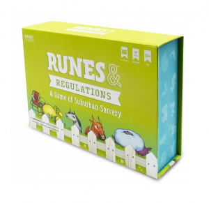 Breaking Games kaartspel Runes & Regulations