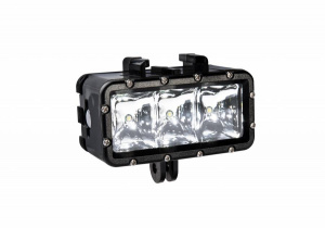 Bresser action-camera ledlamp 7,4 x 6,5 cm zwart