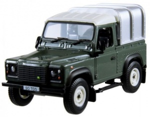 Britains Land Rover Defender 90 met huif 1:32 (42732)
