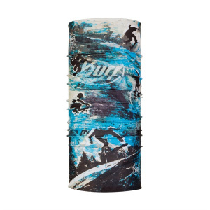 Buff hoofband Coolnet polyester blauw one size