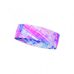 Buff hoofdband Coolnet polyester roze one size