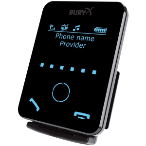 Bury carkit cc 9058 handsfree bluetooth 153 mm zwart