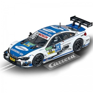 Carrera Evolution racebaan auto BMW M4 DTM wit/blauw