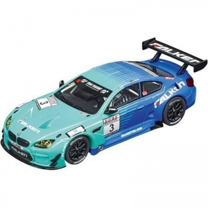 Carrera Evolution Racebaan auto BMW M6 GT3 blauw