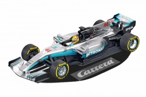 Carrera Evolution racebaanauto Mercedes-Benz F1 Hamilton 1:32