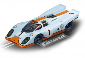 Carrera Evolution racebaan auto Porsche 917 Gulf Racing No.01