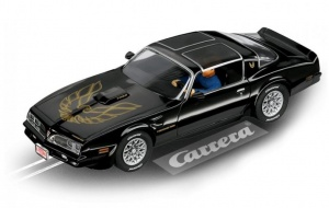 Carrera Evolution Pontiac Firebird Trans AM zwart 1:32