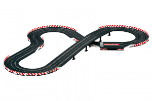 Carrera racebaan Evolution 1:32 DTM Ready to Roar 630 cm zwart