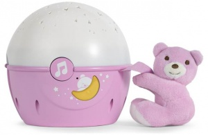 Chicco Next2Stars First Dreams projector roze
