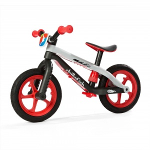 Chillafish BMXie RS loopfiets Junior Vrijloop Zwart/Wit