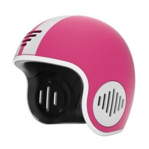 Chillafish helm Bobbi junior 51-55 cm ABS roze/wit