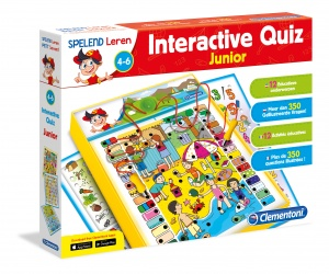 Clementoni interactieve quiz junior 6-delig