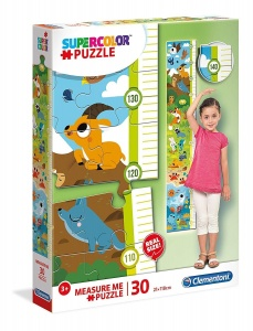 Clementoni legpuzzel Supercolor Measure Me junior 30 stukjes