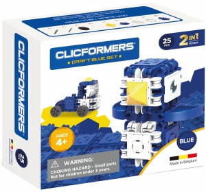 Clicformers Craft Blue-set 2-in-1 (807003) 25-delig