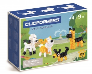 Clicformers hondenset Sweet Friends 123-delig (806004)