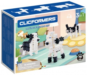 Clicformers hondenset Sweet Friends 79-delig (806002)