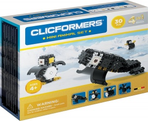 Clicformers mini-dierenset 30-delig