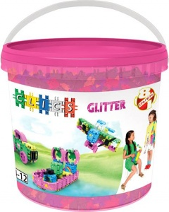 Clics Bucket 8-in-1 Glitter