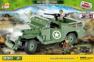 Cobi Small Army M3 Scout Car bouwset 330-delig 2368