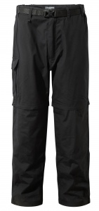 Craghoppers afritsbroek Kiwi Smart Dry Black heren zwart