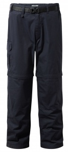 Craghoppers afritsbroek Kiwi Smart Dry Navy heren blauw