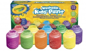 Crayola Silly Scents uitwasbare verf Special Efffects 10-delig