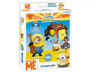 Craze Magic Sand Minions Stuart 4-delig