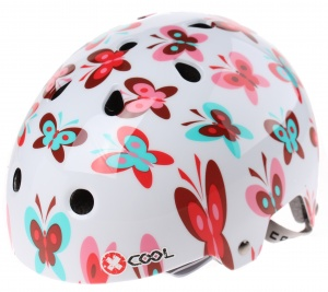 Cycle Tech fietshelm Xcool 2.0 Butterfly wit