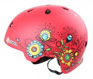 Cycle Tech helm Xcool 2.0 sketch rood maat 55-58 cm