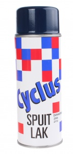 Cyclus spuitlak donkerbruin 400 ml
