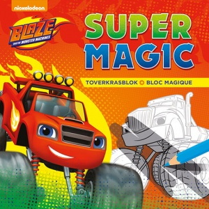 Deltas Blaze and The Monster Machines toverkrasblok