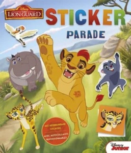 Disney sticker- en kleurboek The Lion King 28 cm