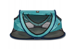 Deryan reisbed Peuter Luxe 2020 136 cm polyester turquoise