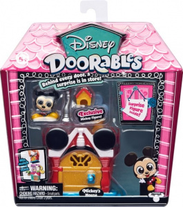 Disney speelset Doorables Mickey Mouse junior rood 2-delig