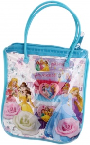 Disney giftbag Princess 9-delig blauw