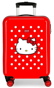Disney kinderkoffer Hello Kitty 33 liter ABS 38 x 55 cm rood