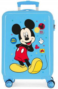 Disney kinderkoffer Mickey Mouse 33 liter ABS 55 cm lichtblauw