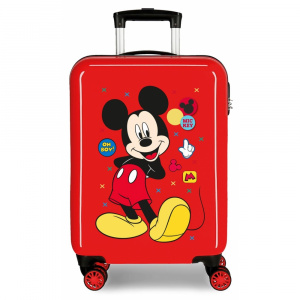 Disney kinderkoffer Mickey Mouse 33 liter ABS 55 cm rood