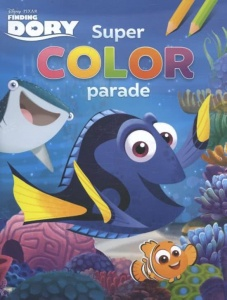 Disney kleurboek super color parade Finding Dory