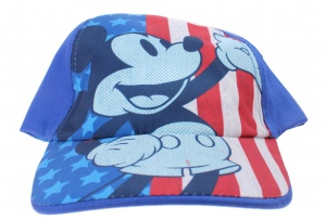 Disney pet Mickey Mouse junior blauw maat 54-56