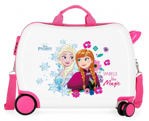 Disney ride-on-koffer Frozen 34 liter ABS 38 x 50 cm roze/wit