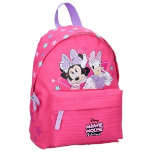 Disney rugzak Minnie Mouse & Katrien Duck 31 x 22 x 9 cm roze