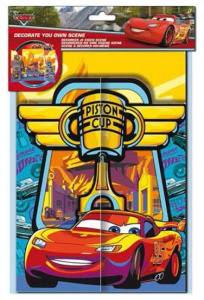 Disney stickervel Cars Piston Cup jongens 21 x 30 cm papier