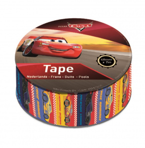 Disney tape Cars junior 700 x 4,8 cm rood