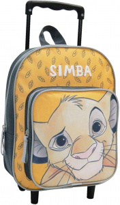 Disney trolley-rugzak Lion King Simba junior 24 x 31 cm geel