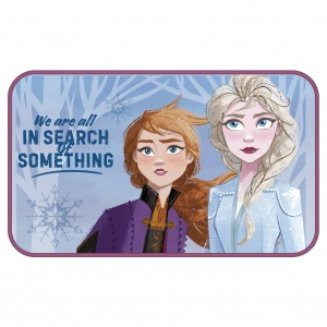 Disney vloerkleed fleece Frozen 2 75 x 45 cm multicolor