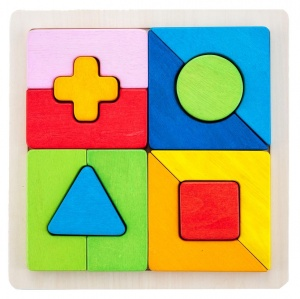 Engelhart Learning game geometric shapes 30 cm