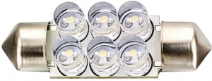 Evo Formance autolamp C5W led 36 mm 12 Volt 1 Watt wit per stuk
