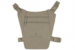 Ferrino documententas beige 19 x 18 cm