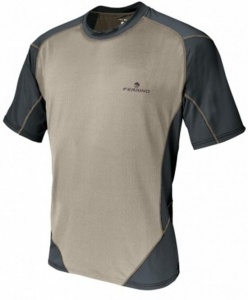 Ferrino T-shirt Glasshouse heren beige/grijs